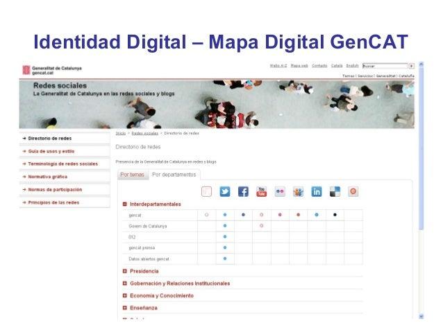 Identidad Digital – Mapa Digital GenCAT