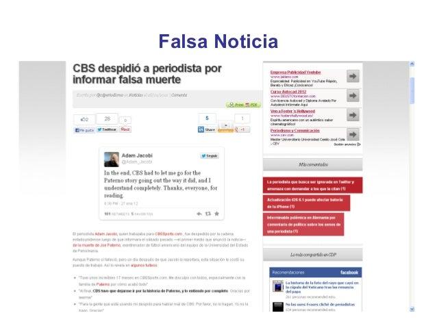 Falsa Noticia