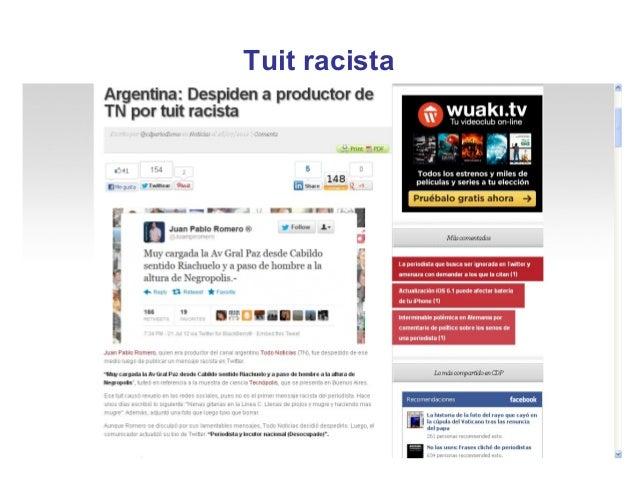 Tuit racista