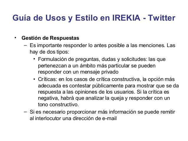 EJERCICIO•   Analiza la presencia digital en Twitter de CCOO Andalucía    teniendo en cuenta los siguientes criterios     ...
