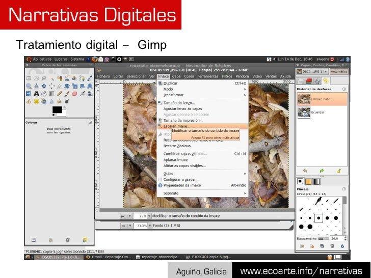 Tratamiento digital –  Gimp