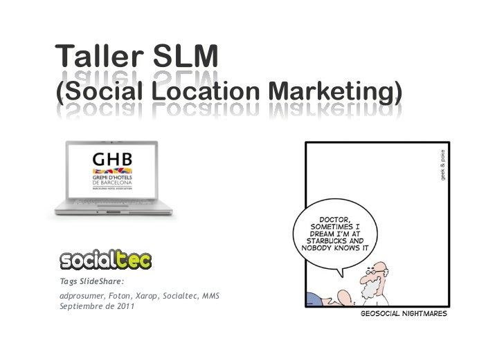 Tags SlideShare:adprosumer, Foton, Xarop, Socialtec, MMSSeptiembre de 2011