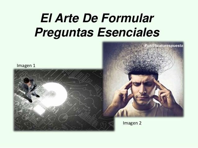El Arte De Formular Preguntas Esenciales Imagen 2 Imagen 1