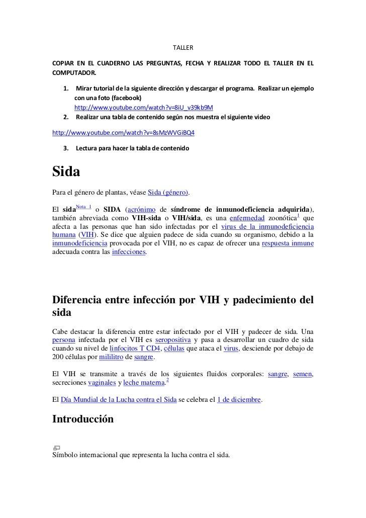 TALLERCOPIAR EN EL CUADERNO LAS PREGUNTAS, FECHA Y REALIZAR TODO EL TALLER EN ELCOMPUTADOR.   1.  Mirar tutorial de la sig...