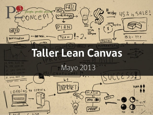 Taller Lean Canvas Mayo 2013