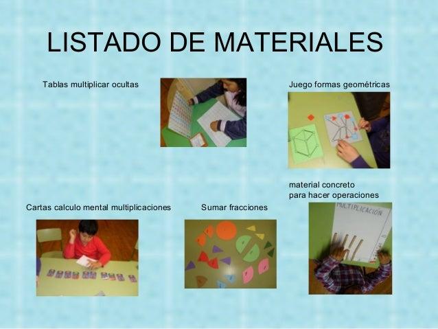 Taller De Juegos Y Materiales En Matematicas