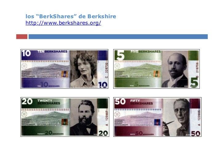 "los ""BerkShares"" de Berkshirehttp://www.berkshares.org/"
