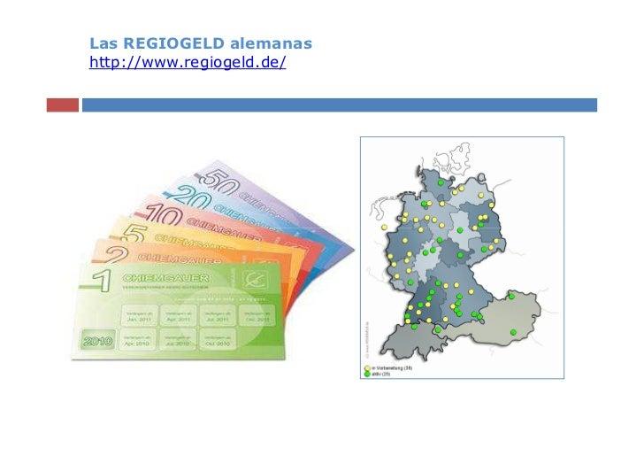 Las REGIOGELD alemanashttp://www.regiogeld.de/