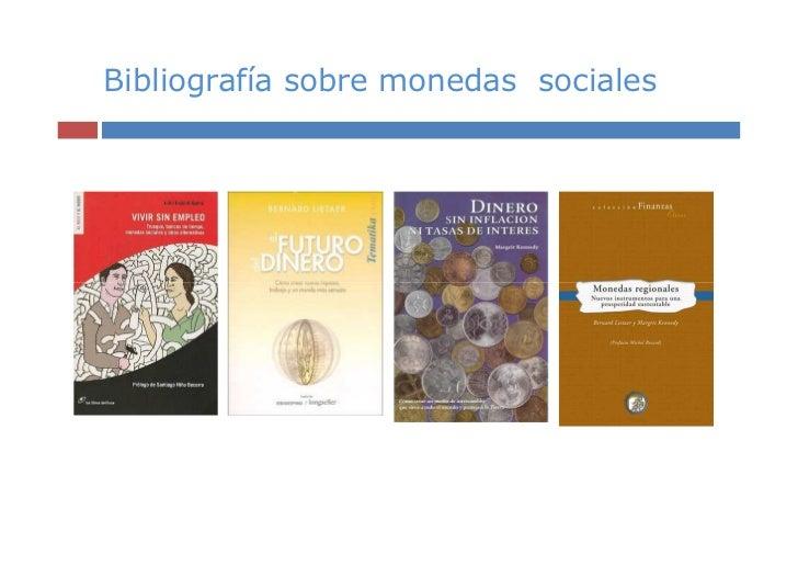 Bibliografía sobre monedas sociales