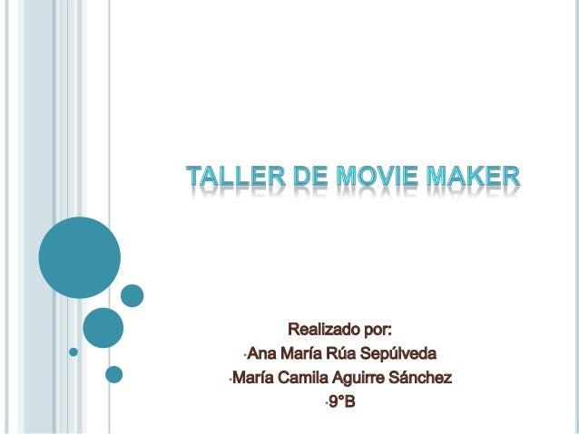 Realizado por: •Ana María Rúa Sepúlveda •María Camila Aguirre Sánchez •9°B
