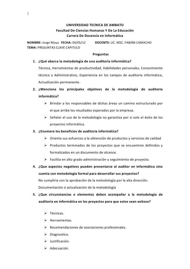 |                        UNIVERSIDAD TECNICA DE AMBATO                  Facultad De Ciencias Humanas Y De La Educación    ...