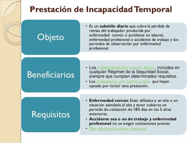 Incapacidad temporal - Oficina de trabajo temporal ...