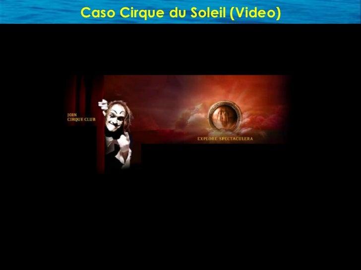 Caso Cirque du Soleil     • Industria poco atractiva (declinante) • El estándar es Ringling Bros.- Barnum & Bailey • Audie...
