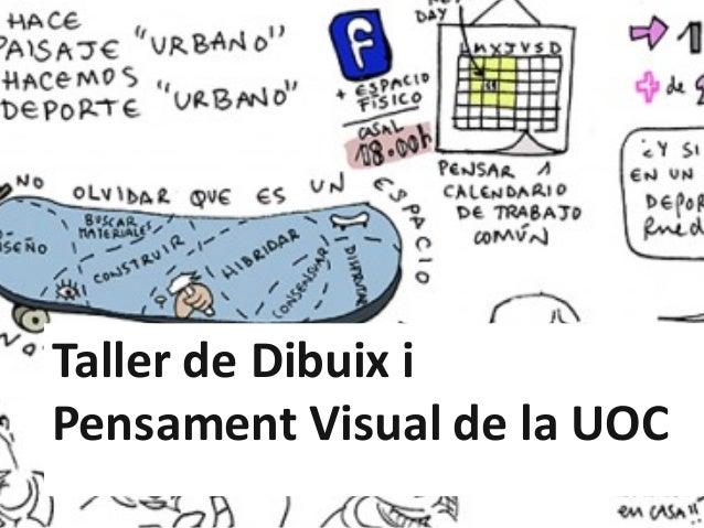 TallerdeDibuix i Pensament VisualdelaUOC