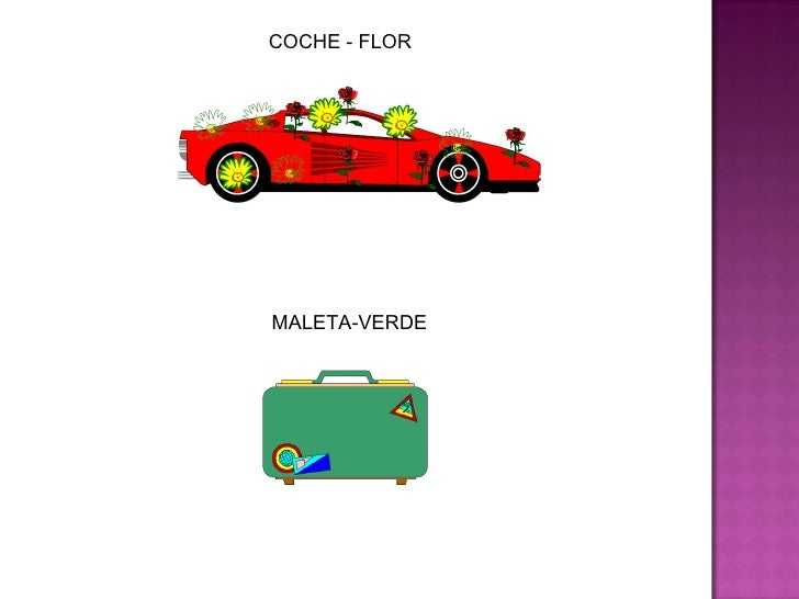 COCHE - FLOR MALETA-VERDE