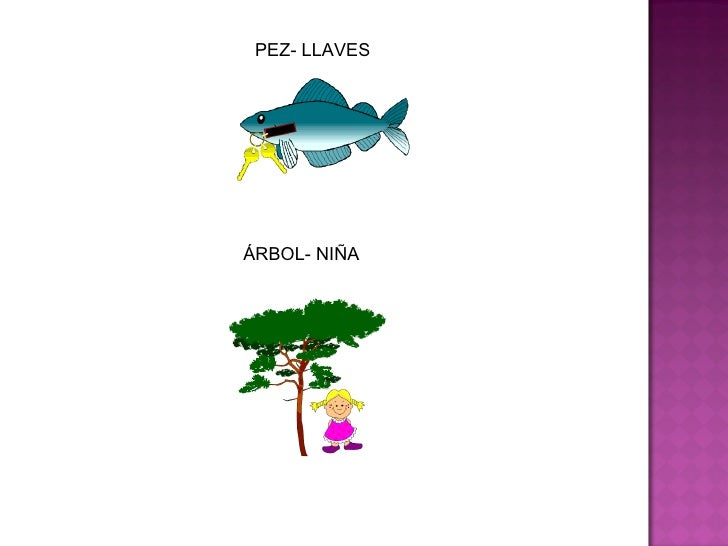 PEZ- LLAVES ÁRBOL- NIÑA