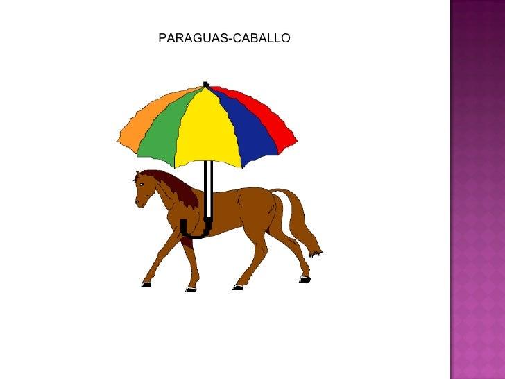 PARAGUAS-CABALLO