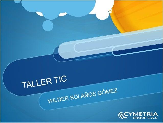 Wilder Bolaños Gómez Consultor de Soluciones e Instructor Productor de contenido audiovisual. Consultor Creativo Adobe y C...