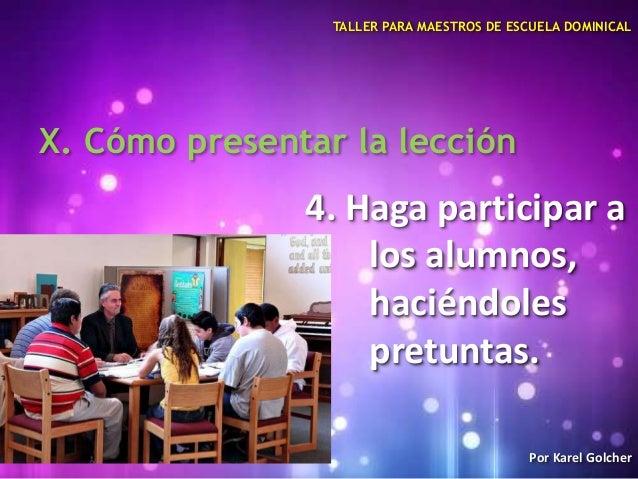 taller para maestros de escuela dominical pdf
