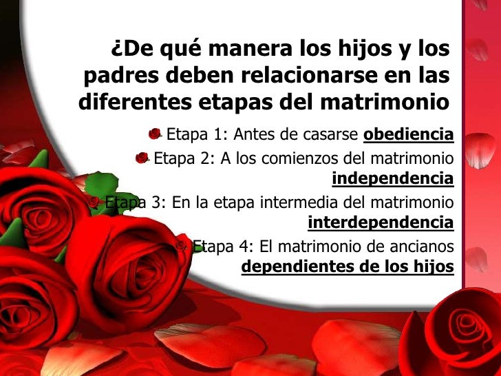 Matrimonio Catolico Hijos : Taller para matrimonios power point