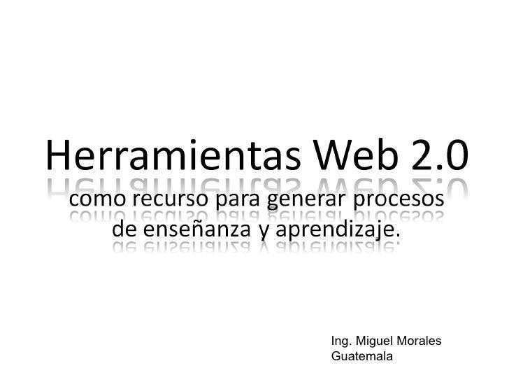 Ing. Miguel Morales Guatemala