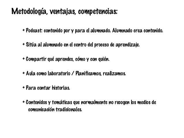 "Taller ""Uso educativo del Podcast"" SIMO Educación 2013. Slide 2"