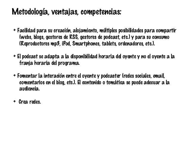"Taller ""Uso educativo del Podcast"" SIMO Educación 2013. Slide 3"