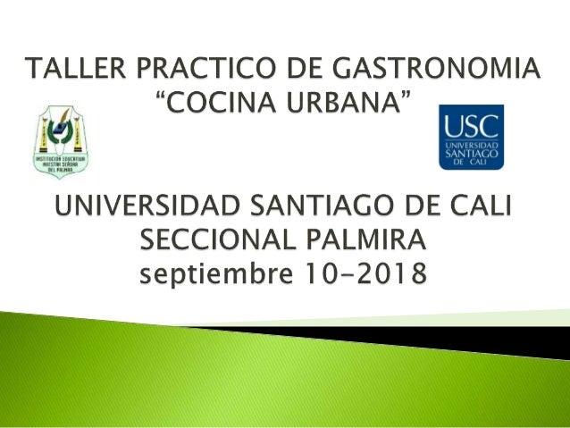  ESTUDIANTES QUE CURSAN TECNICO EN COCINA DE GRADO 10° Y 11°  ALEJANDRA MUÑOZ OSPINA - DOCENTE AREA SALUD Y NUTRICION  ...