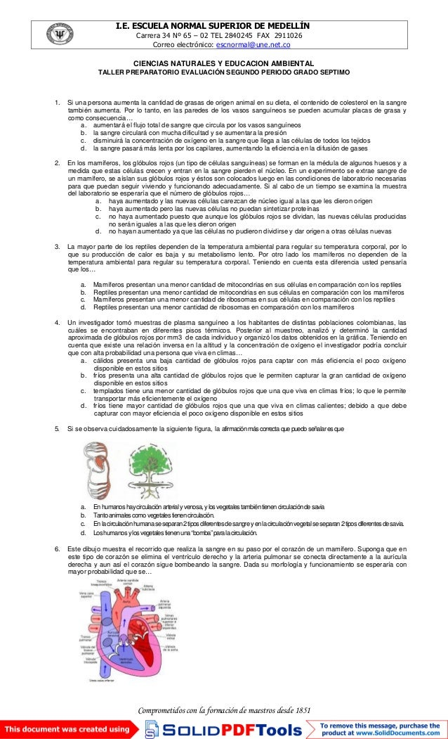 I.E. ESCUELA NORMAL SUPERIOR DE MEDELLÍN Carrera 34 Nº 65 – 02 TEL 2840245 FAX 2911026 Correo electrónico: escnormal@une.n...