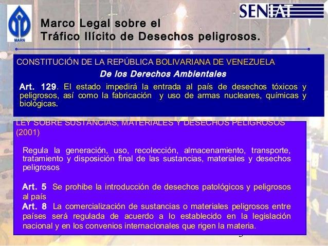Taller regional sobre la prevención y monitoreo de tráfico ilísito de desechos peligrosos y otros Slide 3