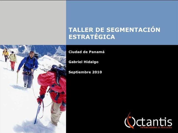 Taller segmentación estratégica