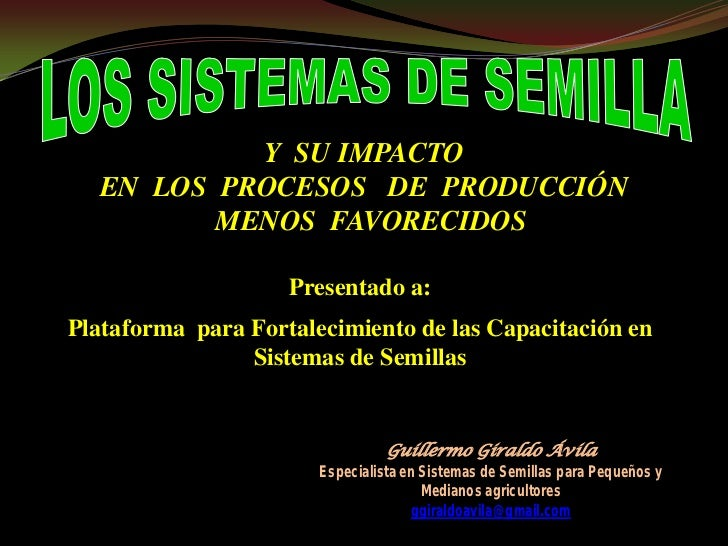 Y SU IMPACTO  EN LOS PROCESOS DE PRODUCCIÓN         MENOS FAVORECIDOS                    Presentado a:Plataforma para Fort...