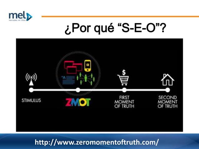 """¿Por qué """"S-E-O""""? http://www.zeromomentoftruth.com/"""