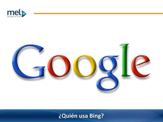 ¿Quién usa Bing?