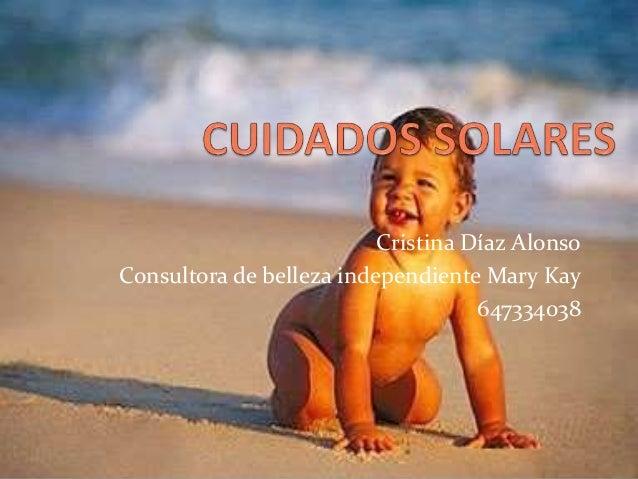 Cristina Díaz Alonso Consultora de belleza independiente Mary Kay 647334038