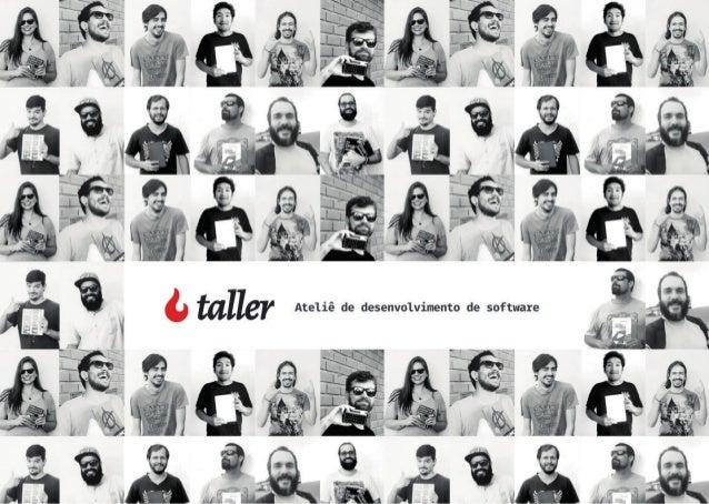 Taller – Treinamentos e consultorias