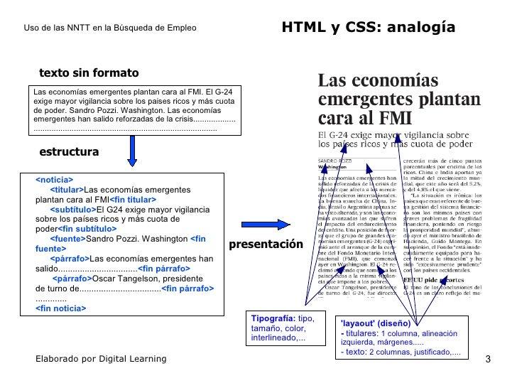 Creacion y publicacion de paginas Web Slide 3