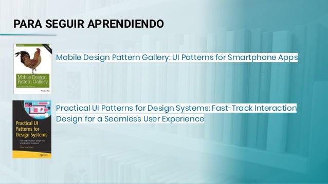 Taller UX 2019  -  Patrones de diseño