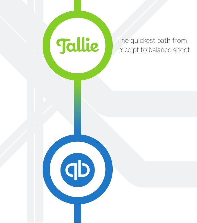 The quickest path from receipt to balance sheet