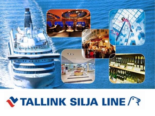 Tallink Silja Line • Die Fährreederei Tallink Silja ist der führende Anbieter in den Bereichen der Freizeit- und Geschäfts...