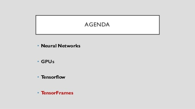 Tallinn Estonia Advanced Java Meetup Spark + TensorFlow