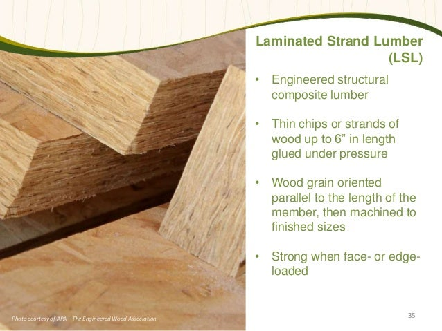 Laminated Structural Lumber ~ Tall wood takes a stand proven to be safe and cost effective