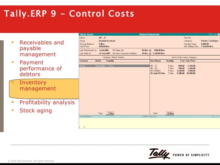 Tally ERP 9 A Preview