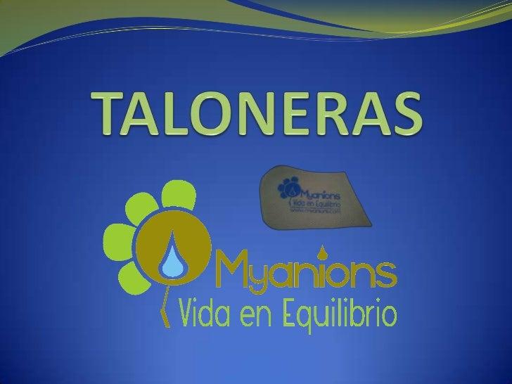 TALONERAS<br />
