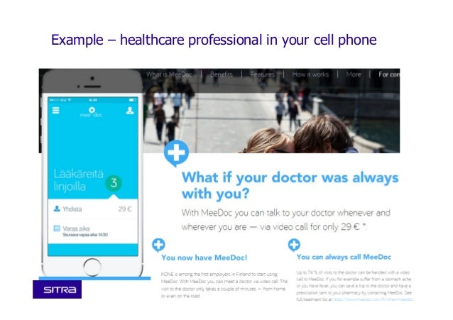 10Sitra • Name • 0.0.2014 • Example – healthcare professional in your cell phone