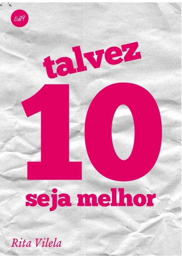 Talvez 10 seja melhor de Rita Vilela (pdf)