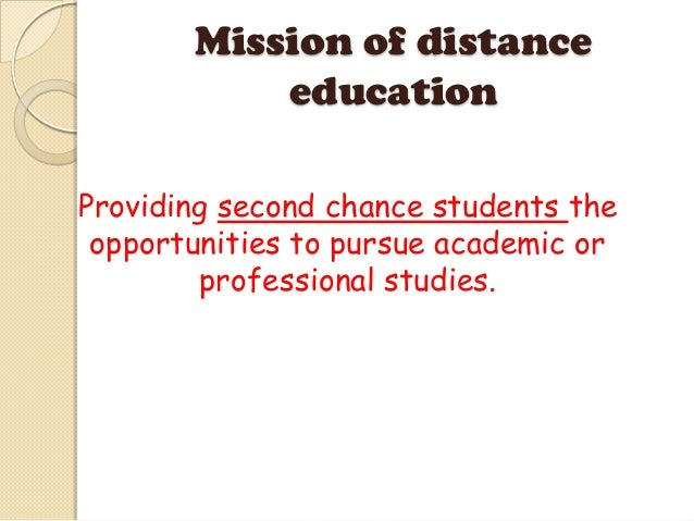 Talvndr challenges facing distance education in the 21st for Extra mural studies