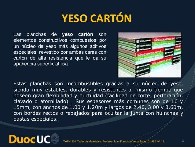 Materiales de planchas para revestimientos - Planchas de yeso ...