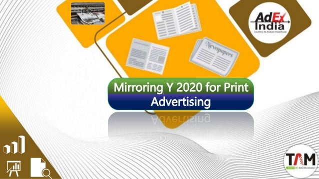Mirroring Y 2020 for Print Advertising