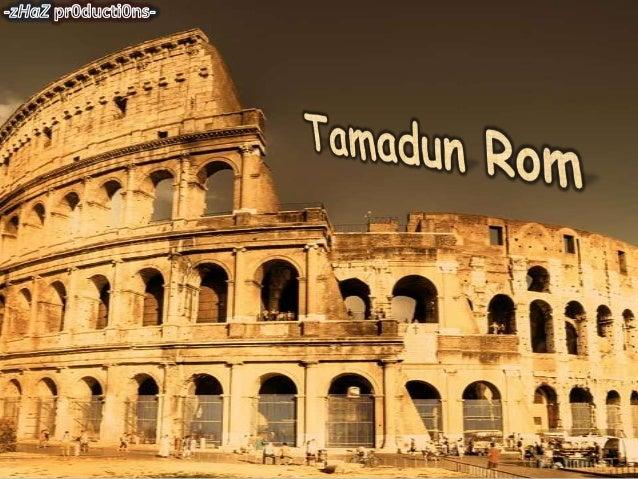 Tamadun Rom Sejarah Form 4